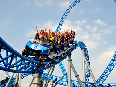 Europa Park Rust, Megacoaster Blue Fire